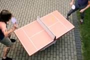 Tennino: Komplettes Tischtennis-Spiel aus Pappe