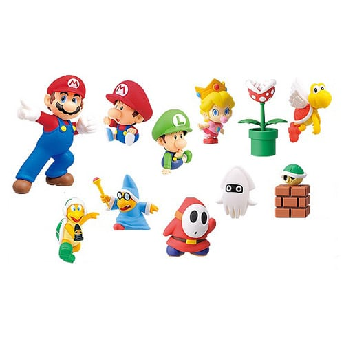Super Mario Series 3 Furuta Figure Collection Set (Foto: Entertainment Earth)