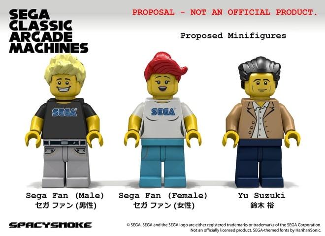 SEGA Figuren. (Foto: LEGO Ideas)