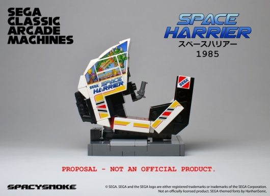 Space Harrior. (Foto: LEGO Ideas)