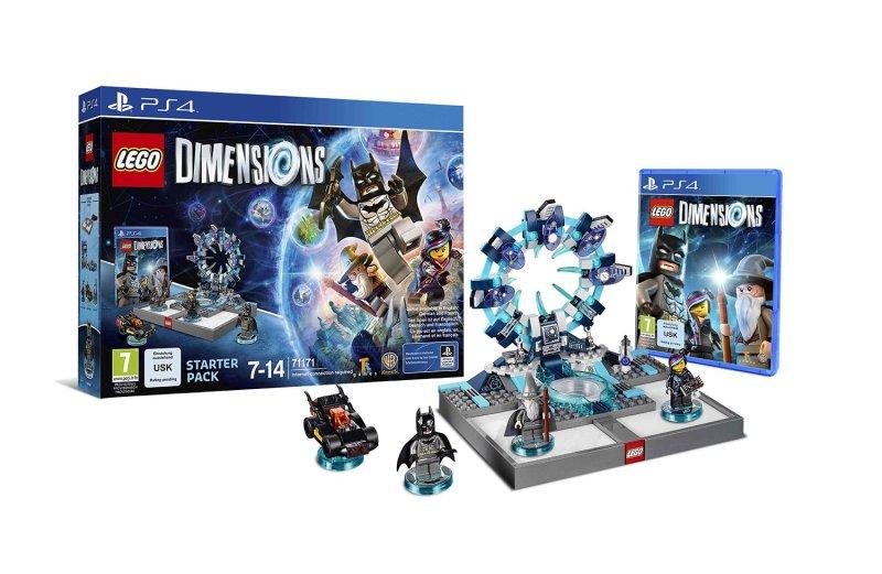"""Drei Figuren, das Spiel und das """"Portal"""" sind Bestandteil des Starter-Pakets. (Foto: Warner Bros. Interactive)"""