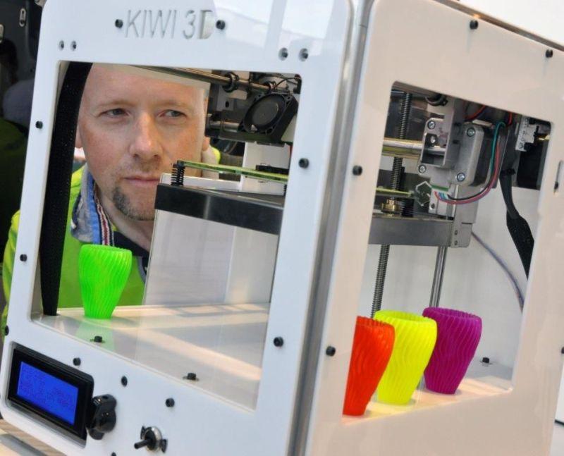 3D-Drucker werden ein großes Thema. (Foto: Maker World)
