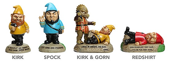 Star Trek Garden Gnomes (Foto: ThinkGeek.com)