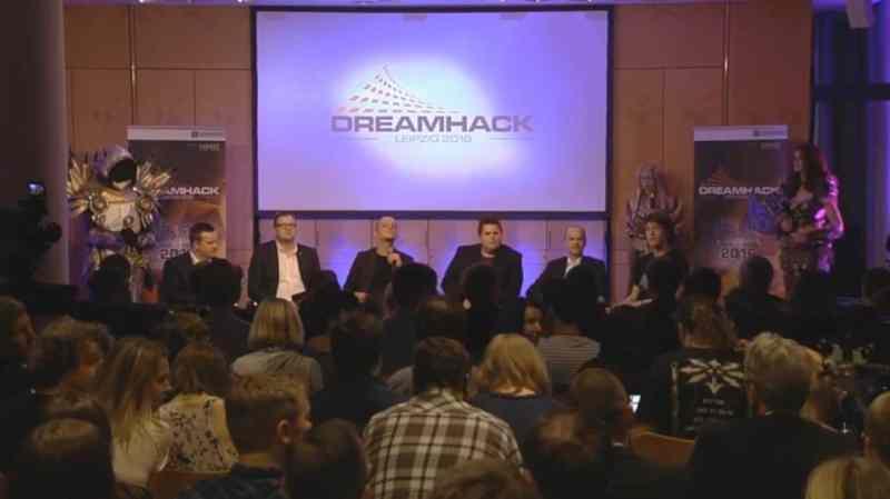Die Verantwortlichen auf der Pressekonferenz. (Foto: Screenshot / Twitch)