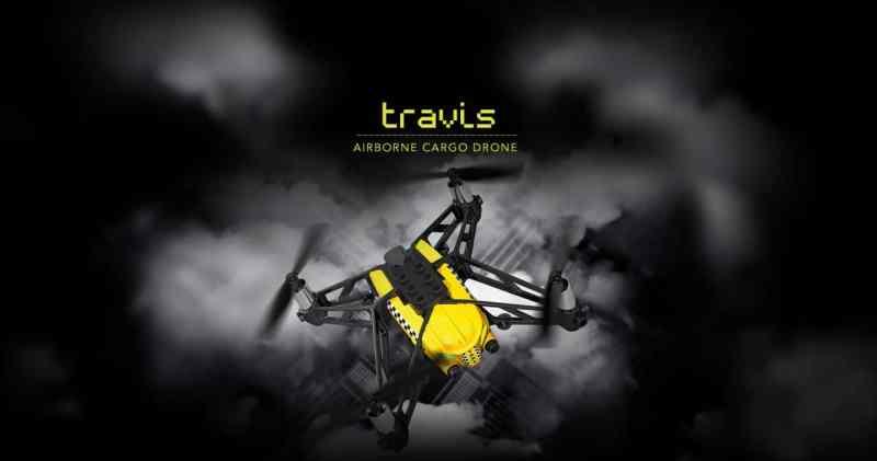 Travis mit LEGO-Aufsatz. (Foto: Parrot)