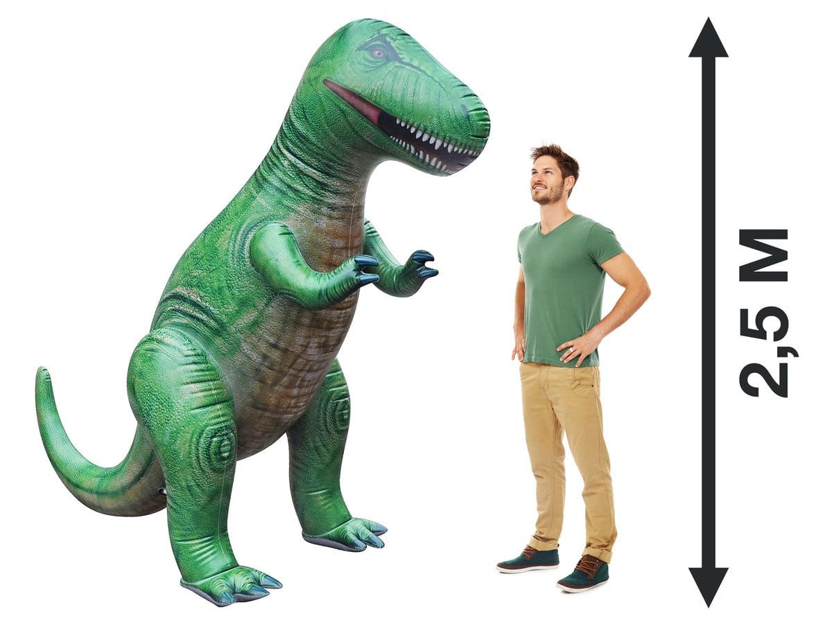 trex xxl geht mit diesem riesigen dinosaurier baden