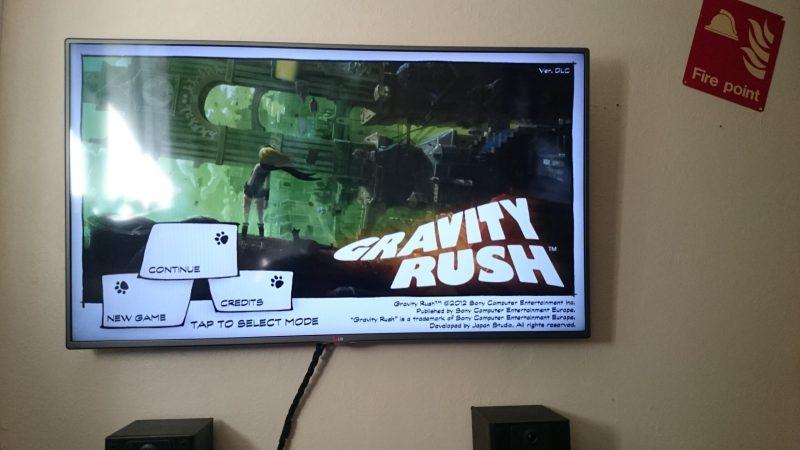 Gravity Rush auf PlayStation TV. Feine Sache. (Foto: NEOGAF)