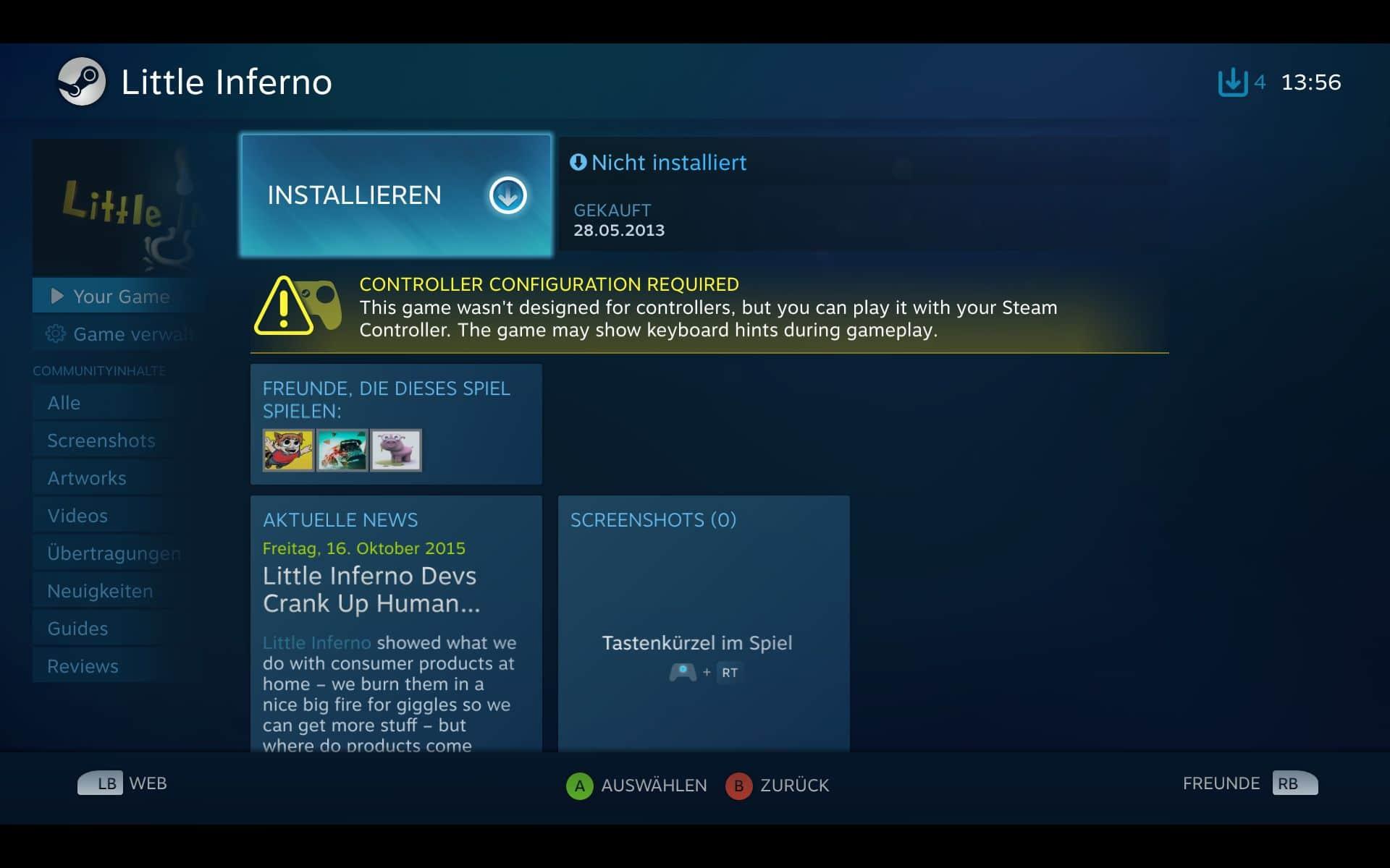 Steam Controller: Intelligentes Gamepad oder unnötig? Der Praxistest!