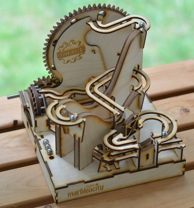 Aufgebauter Dragon Coaster. (Foto: Kickstarter)