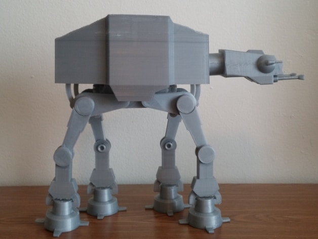 Das ist nicht einmal ein Roboter, aber... (Foto: Thingiverse)