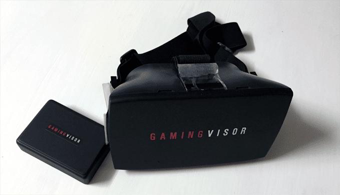 Ist nicht so richtig eine VR-Brille. (Foto: Gamingvisor)