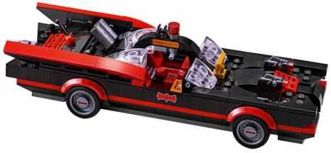 Das Batmobil. (Foto: LEGO)