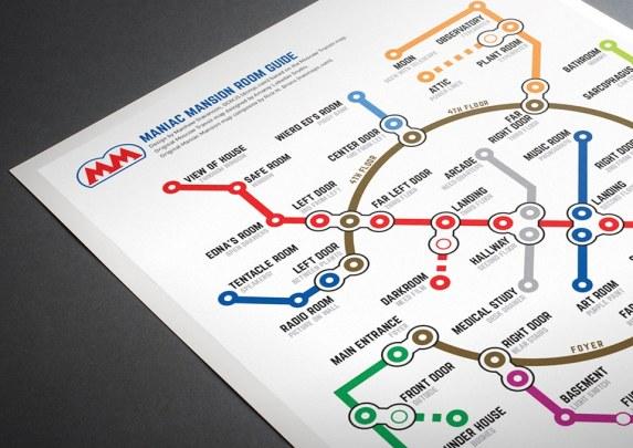 NES Metro Maps. (Foto: Matthew Stevenson)