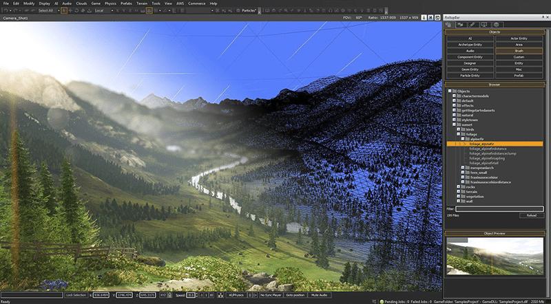 Mächtiger Unterbau: die CryEngine. (Foto: Amazon)