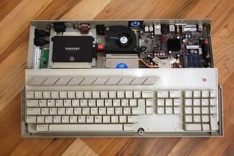 Ein Atari ST mit PC-Innenleben. (Foto: Andreas Wagener)