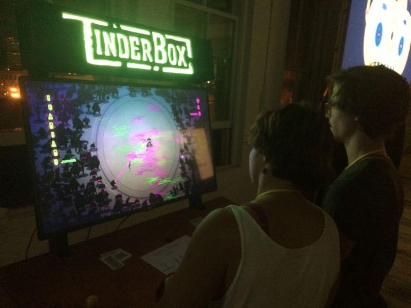 Arcade-Feeling. (Foto: TinderBox)