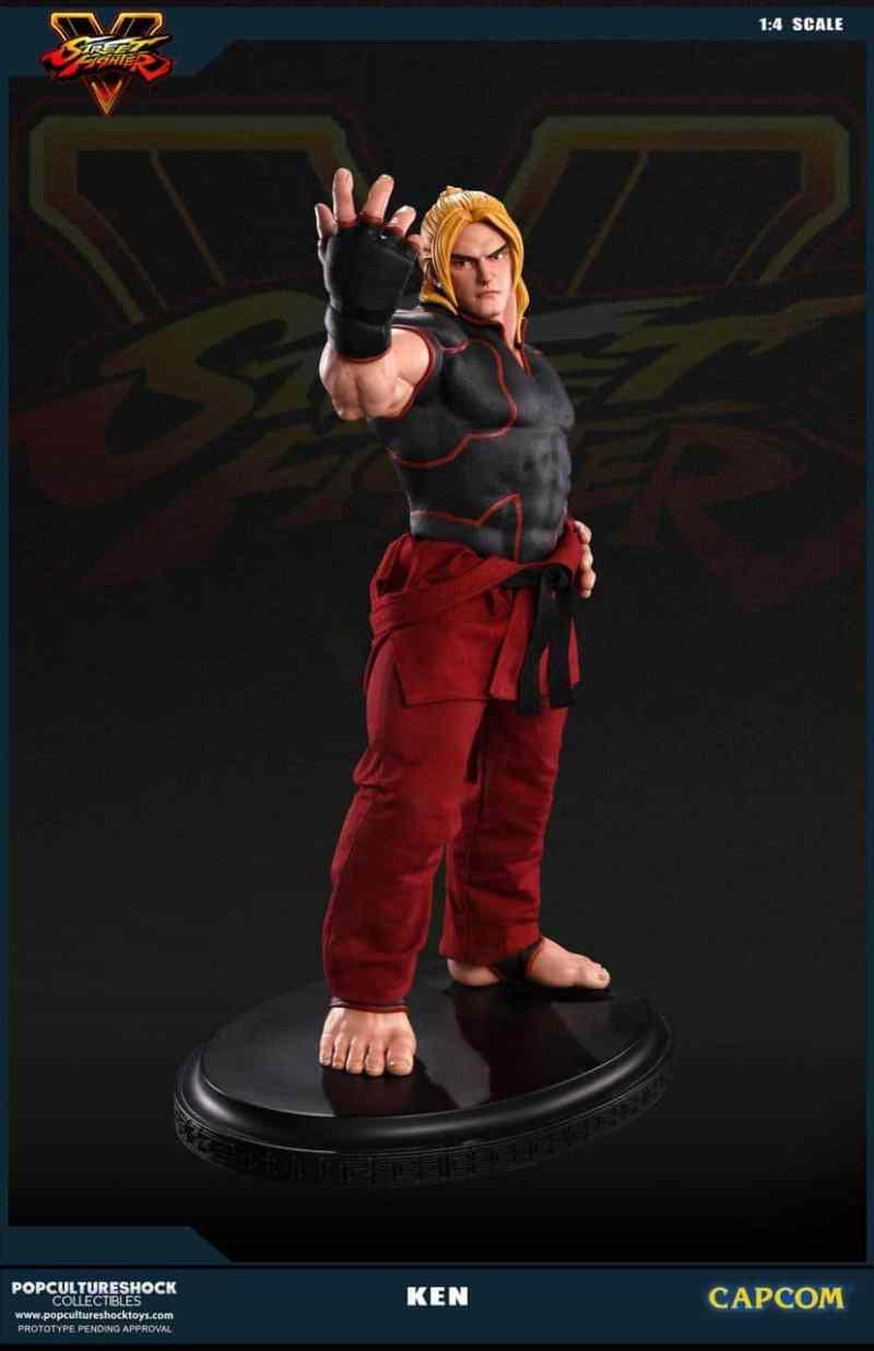 Ken ist billiger als Ryu. (Foto: Pop Culture Shock Toys)