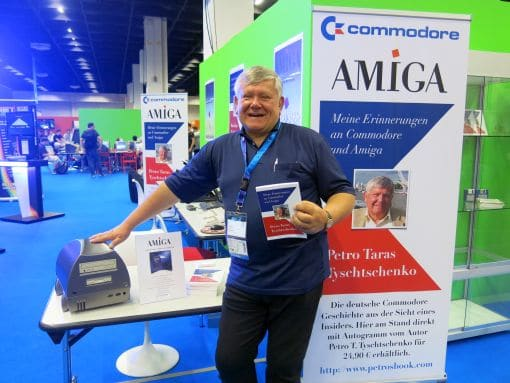 Commodore-Experte Petro Tyschtschenko. (Foto: Schreibfabrik)