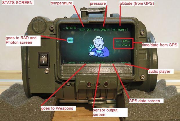 Einige der Funktionen. (Foto: Will Sweatman)