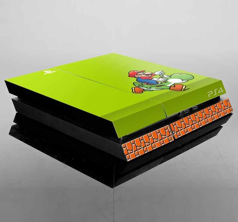 PS4 im Nintendo-Look. (Foto: Tenstickers.de)