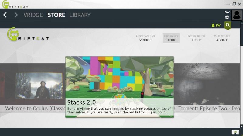 Die Streaming-Software bringt bereits einen Store mit. (Foto: Screenshot)