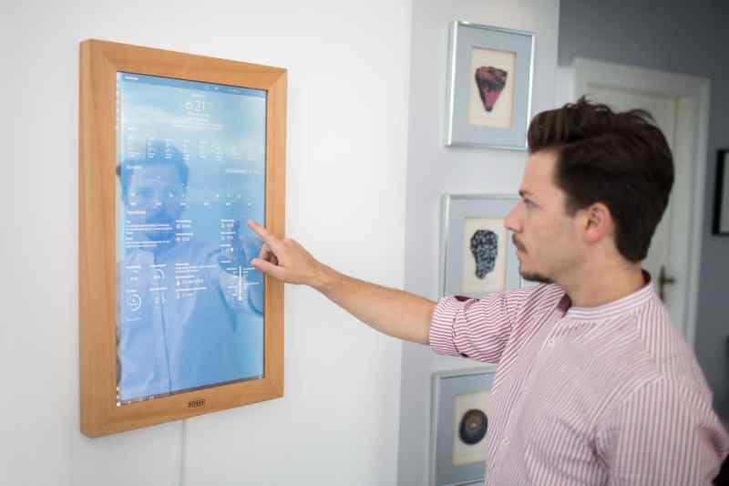 Mit Touchscreen. (Foto:Dirror)