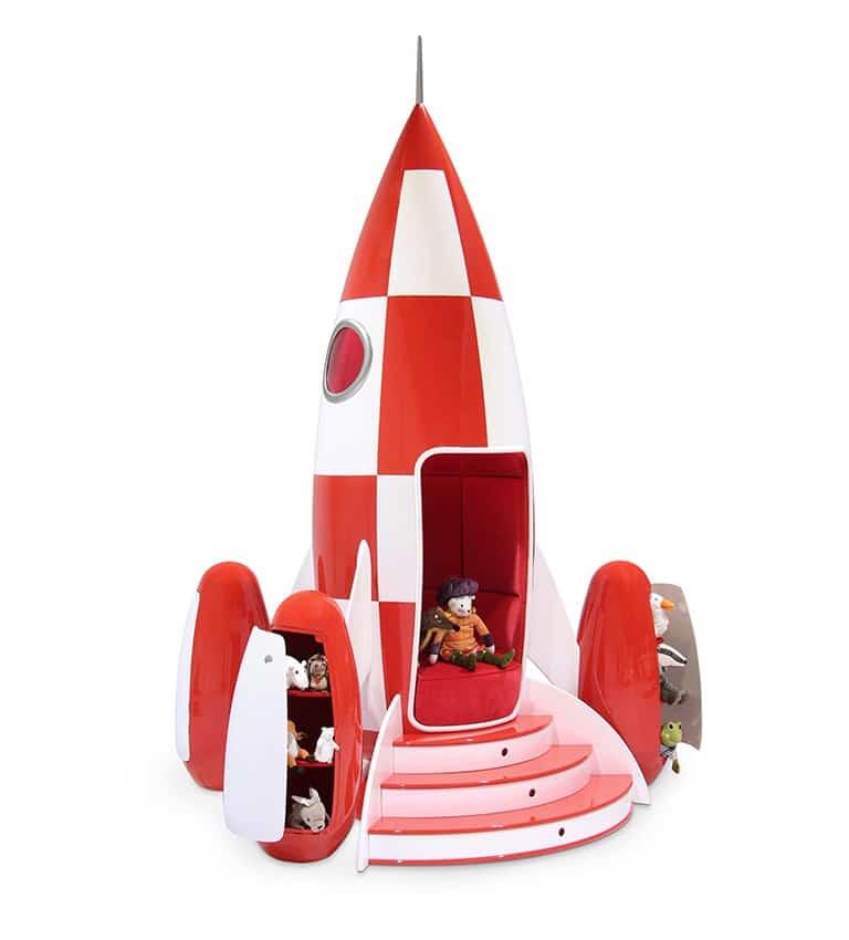 Spielzeug? Ach, das heißt nicht, dass die Rakete nur für Kinder ist. (Foto: circu)