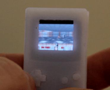 Das Case aus dem 3D-Drucker. (Foto: Hackaday)