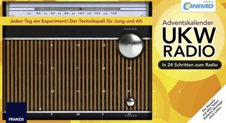 Radio als Kalender. (Foto: Conrad)