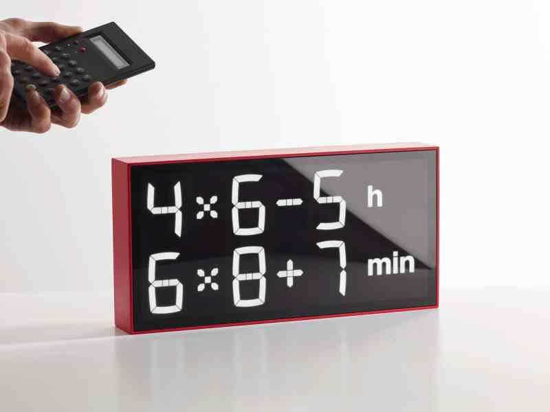 Na, wie spät ist es? (Foto: Gerhardt Kellermann / Albert Clock)