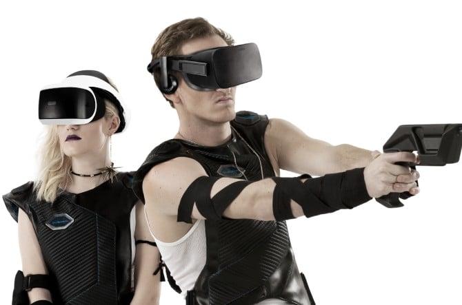 Das sieht schon seltsam aus, oder? Cyberpunk-Spaß wie aus den 1980ern? (Foto: BluAtom Inc.)