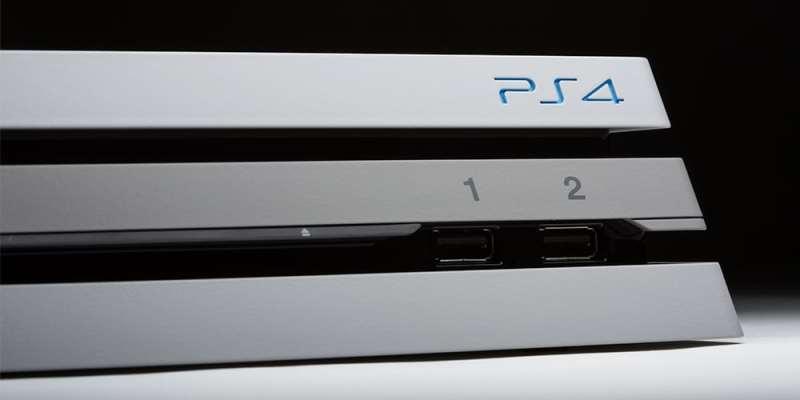 Es ist eine normale PS4 Pro. (Foto: ColorWare)