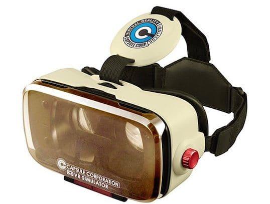 Die offiziell lizenzierte VR-Brille zu Dragon Ball Z. (Foto: Megahouse)