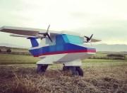 DIY LEGO Flugzeug: Riesiger Bauklotz-Flieger hebt wirklich ab!