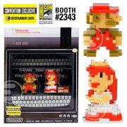 Super Mario Bros.: Pixel-Mario rettet Pixel-Peach!