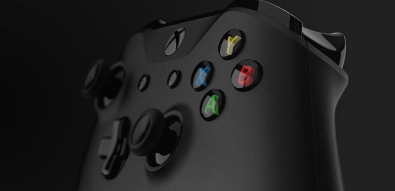 Der Controller der Xbox One X. (Foto: Microsoft)