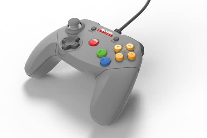 Erinnert unter anderem an den Xbox 360-Controller. (Foto: Retro Fighters)