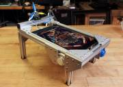 Mini iPad Pinball-Tisch: Winziger Flipper-Automat im Eigenbau
