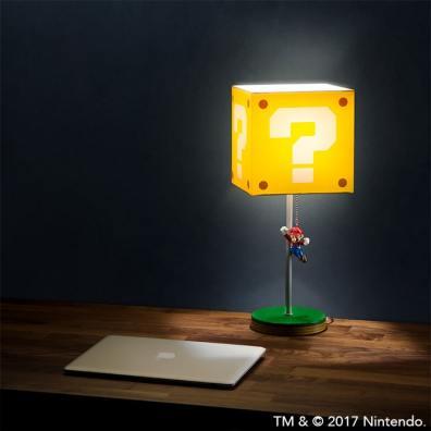 Fragezeichen Lampe. (Foto: ThinkGeek)