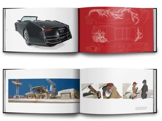 The Art & Design of Final Fantasy XV. (Foto: Cook & Becker)