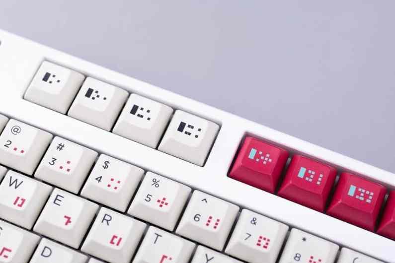 Hyper Light Drifter Keyboard. (Foto: The Key Company)