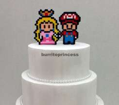 Mario und Peach. (Foto: BurritoPrincess)
