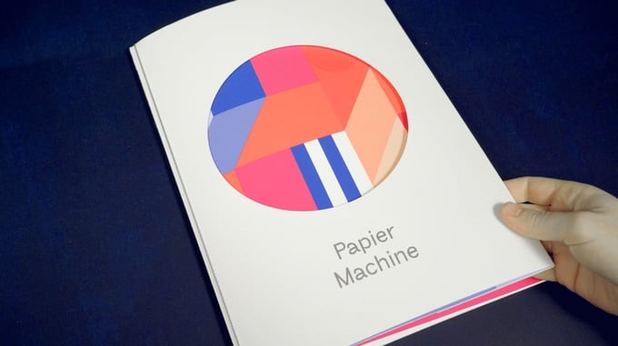 Ein ansprechendes Design. (Foto: Papier Machine)