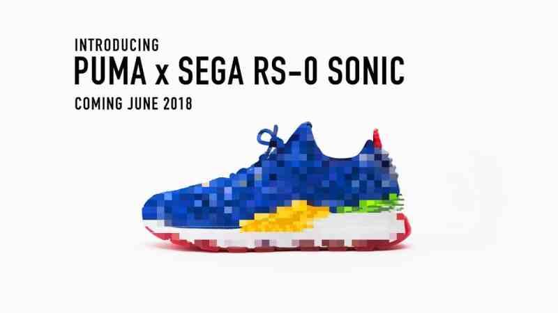 Puma x Sega RS-0 Sonic hat was. (Foto: Puma / Sega)