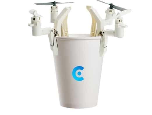 Wie wäre es mit einem fliegenden Becher? (Foto: Modularized Drone)