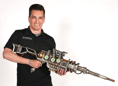 Fallout Plasma Rifle. (Foto: ThinkGeek)