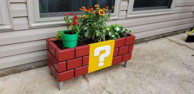 Mario Planter Box. (Foto: drickman156 / Instructables)