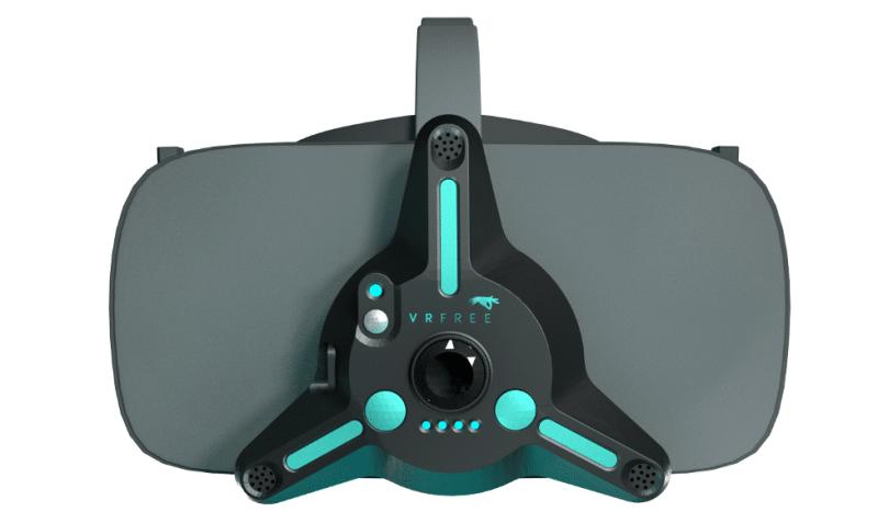 Die Hardware fürs Tracking wird direkt an die VR-Brille gesteckt. (Foto: Sensoryx)