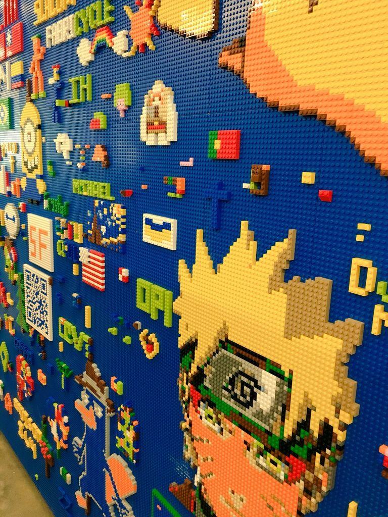 Die Wand in voller Pracht. (Foto: AmiedoubleD)