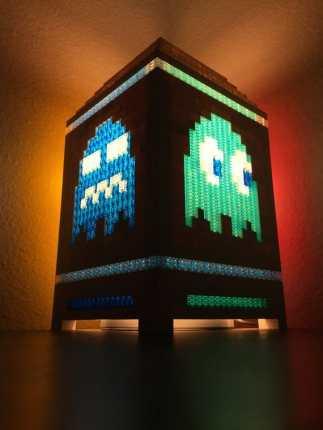 Ein großes Pac-Man Licht. (Foto: Jamieson Pond)